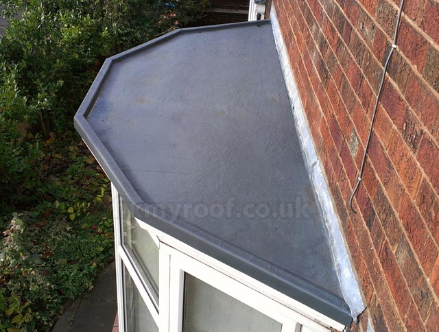 Fibreglass bay roofs choose a style and colour the lead for Window roof design