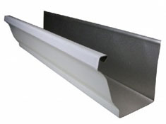 Continuous seamless aluminium guttering