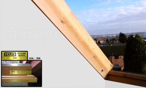 old Velux window frame