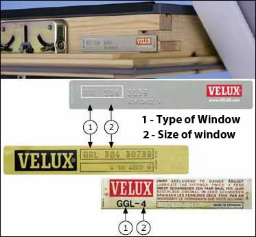 old velux window codes velux spares window flashings. Black Bedroom Furniture Sets. Home Design Ideas