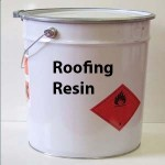 Fibreglass Roofing resin tin tub 20K