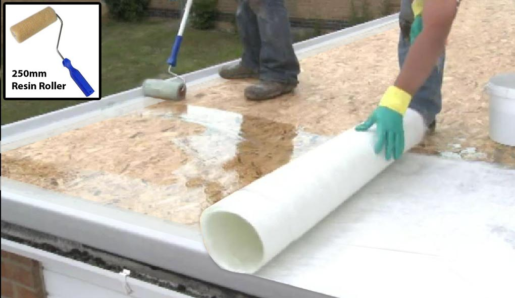 How To Laminate A Fibreglass Roof Resin Amp Topcoat Diy Guide